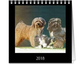 Tibet Terrier Foto Tischkalender 2018