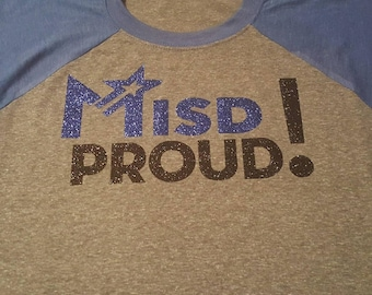 Midlothian ISD MISD Proud glitter school spirit custom shirts! Heritage and Midlothian high. Panthers. Jaguars