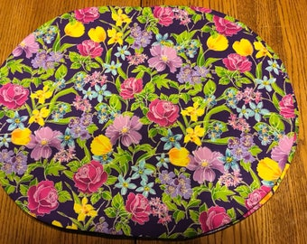 "Floral Placemats  set of 4  14"" x 18"""
