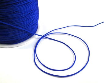 5 m nylon string blue electric 1 mm