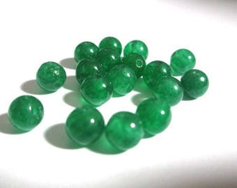 10 pearls jade natural 6mm (4)