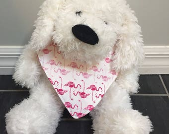Flamingos Reversible Bandana Bib/Drool Bib