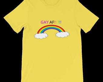 Gay Pride ( As F##k ) T-shirt