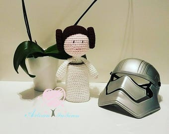 Crochet Princess Leia - Princess Leia - Crochet doll - Amigurumi Princess Leia - Star Wars - Amigurumi doll - Princess Leia doll