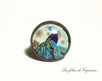 Ring Cabochon TRIANON• •PAON.