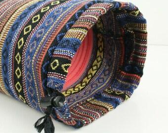 Handmade Thick Woven Cotton Yoga Pilates Mat Bag