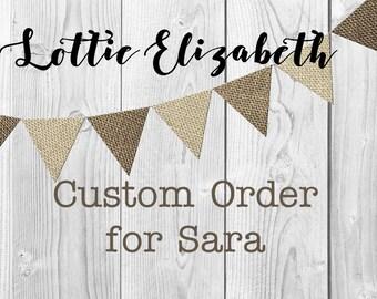 Custom Bridesmaid Proposal Cards for Sara