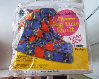 Quilt kit, sew easy quilt kit, rag time quilt, quilt