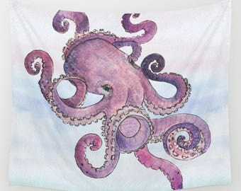 octopus home decor | etsy