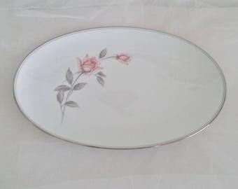 Noritake Rosemarie 12 inch Serving Platter