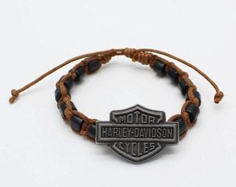 harley Brown shambala bracelet
