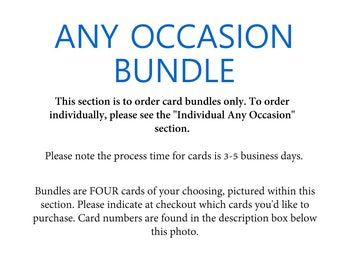 Any Occasion Cards Bundle