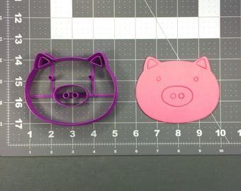 Pig Face 101 Cookie Cutter