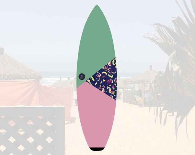 NEW IN   Oh Mangod   Surfboard Sock   Triangle Sunrise