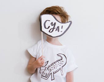 Alligator Unisex Kids TShirt, Alligator Kids TShirt, Kids T, Kids White TShirt