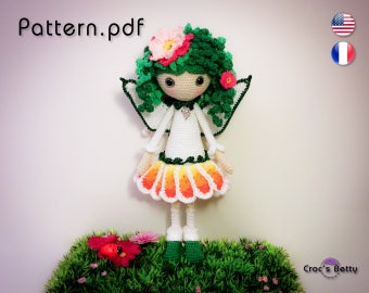 Pattern - Maguy, Flowers Fairy