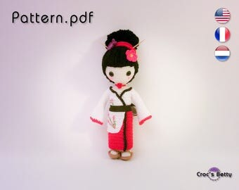 Pattern - Craquotine, the little Geisha