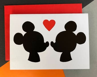 Mickey Mouse Card