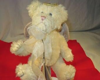 Boyds Bears Plush Bethany Bearington 590053-01 Mohair Bear Angel