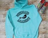 Mermaid Academy Hoodie. Unisex Mermaid Hoodie. Mermaid Hooded Sweatshirt. Mermaid Fashion. Mermaid Sweatshirt. Beach Sweater.
