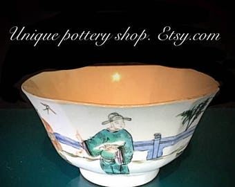"""A 19th century, """"Tongzhi"""" period, Chinese porcelain bowl"""
