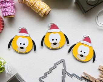 Christmas Pluto Paper Clip