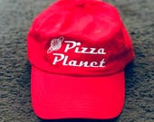 Pizza Planet Hat | Toy Story | Buzz Lightyear | Toy Story Hat | Disney Hat | Disney baseball hat
