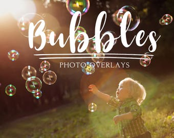 70 Bubbles Photoshop Overlays, summer overlays, photoshop overlay, bubble overlay