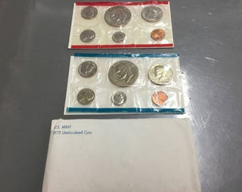 1975 US Uncirculated Mint set  Original package