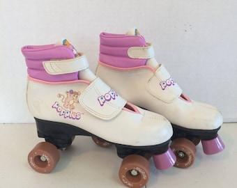 1986 Popples Skates, Vintage Popples Roller Skates, 1986 Popples Roller Skates, Roller Skates, Vintage Roller Skates