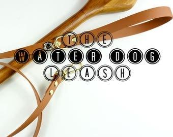 "MEDIUM/LARGE - 3/4"" Water Dog Leash, Vegan leather, Biothane Webbing, Water proof leash, Christmas Gift, Dog Gift"