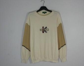 Kenzo Sweatshirt Kenzo Golf Beige Sweatshirt Men's Size 4