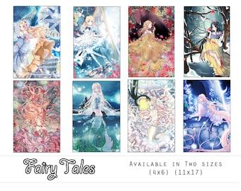 FULL SET Grimm Fairy-Tale Print