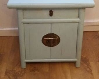 SOLD ! ! !   Shabby Chic CABINET with top drawer