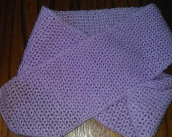 CHEAP - Girl Pink Purple scarf