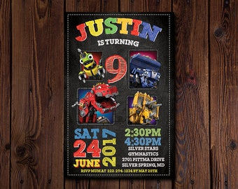 Dinotrux invitation, Dinotrux invitations, Dinotrux birthday, Dinotrux, Dinotrux invite, Dinotrux party, Dinotrux DIY