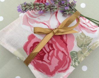 Lavender bags, lavender sachet, lavender pillow, lavender gifts, gift for her, wedding gift, birthday gift, stocking filler, uk sellers only