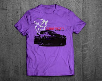 Dodge Challenger Demon shirts, SRT8 shirts challenger t shirt, Cars t shirts, men tshirts, women t shirts, muscle car shirts dodge shirts