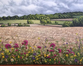 Original Handmade Painting - A Summers Day