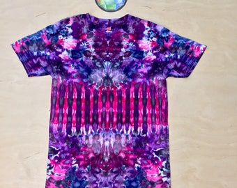 Small Kaleidoscopic Apparel tie dye shirt