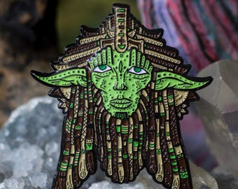 The Wise Wook Pin Yoda Variant