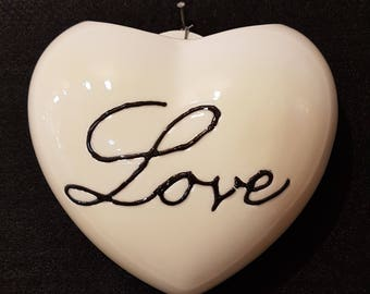 Heart Shaped ceramic Radiator humidifier