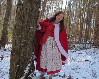 Adult Pink Red Something There Dress Costume Cosplay inspired by Live Action Belle 2017 Beauty and the Beast Movie