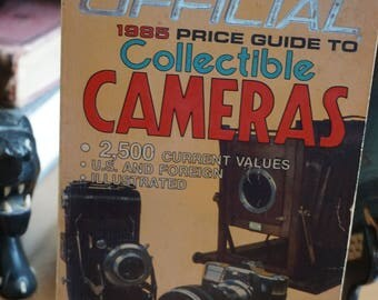Collectible Cameras Book 1985 Price Guide/ Camera Collectors