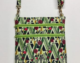Geometric Green Zip and Go
