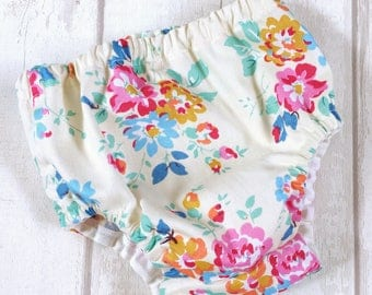 Nappy covers Baby Girls Floral Nappy Cover, Babies Floral Diaper Covers, Girls Pant Covers