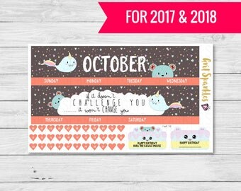 october monthly stickers october monthly planner stickers ready to ship eclp stickers for use with ERIN CONDREN LIFEPLANNER™