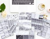 Paname -  A la carte pages - Planner stickers - Erin Condren - Plum Paper - Kikki K - Paperchase - Filofax