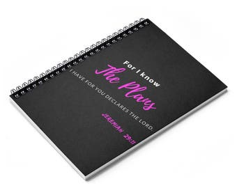 Jeremiah 2911   Ruled Line Journal