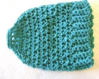 Hand Crocheted Ponytail / Messy Bun Hat